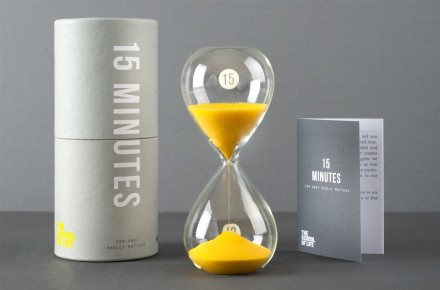 15 minute timer / The School of Life