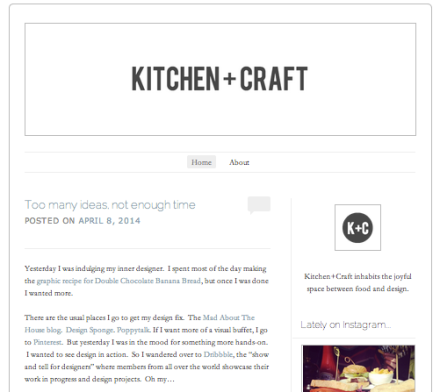 Kitchen+Craft